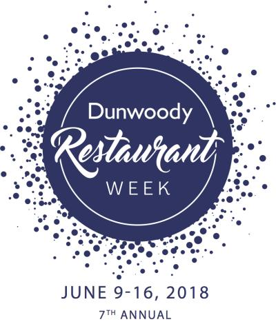 Dunwoody Restaurant Week Logo 2018