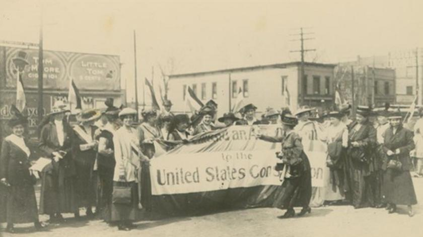 Women's Suffrage Topeka