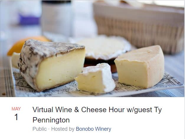 Bonobo Wine & Cheese