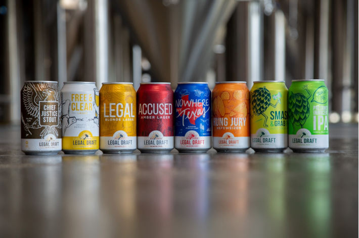 Photo of Legal Draft craft beer in cans