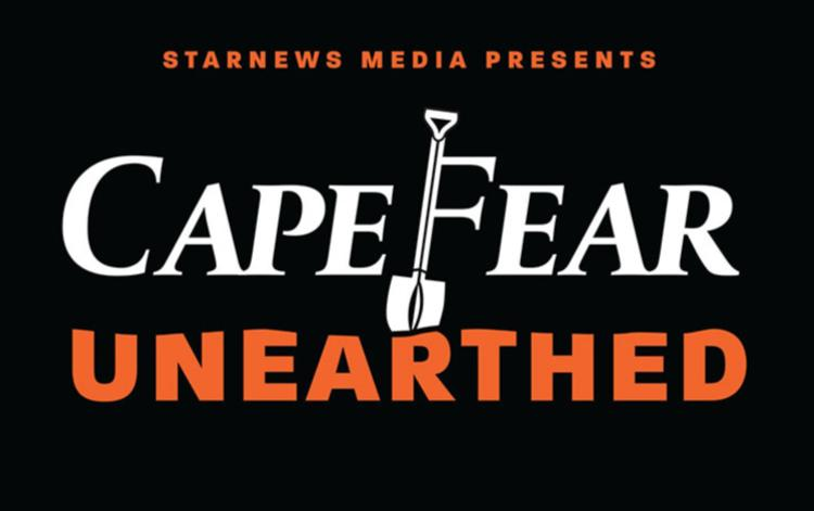 Logo for Cape Fear Unearthed podcast