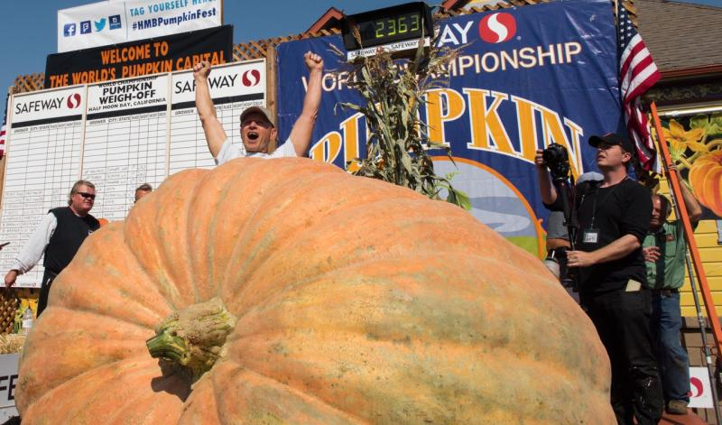 Pumpkin Weigh Off 2017