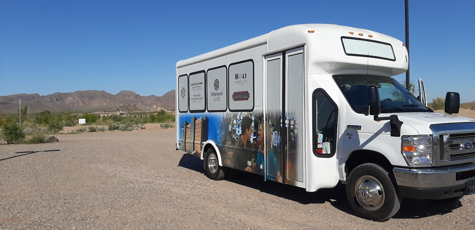 Image of Wild Horse Pass shuttle