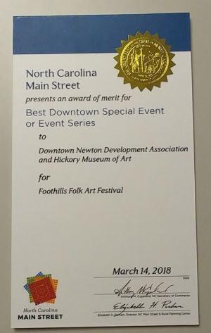folkart award