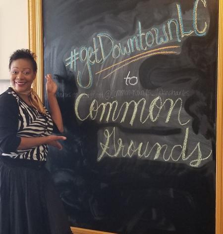 Common Grounds Michele Chalkboard