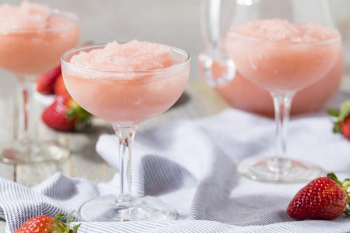 Frozen Rosé Frosé