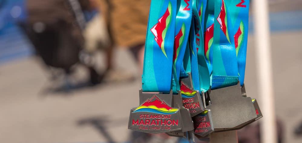 Steamboat Marathon Medals