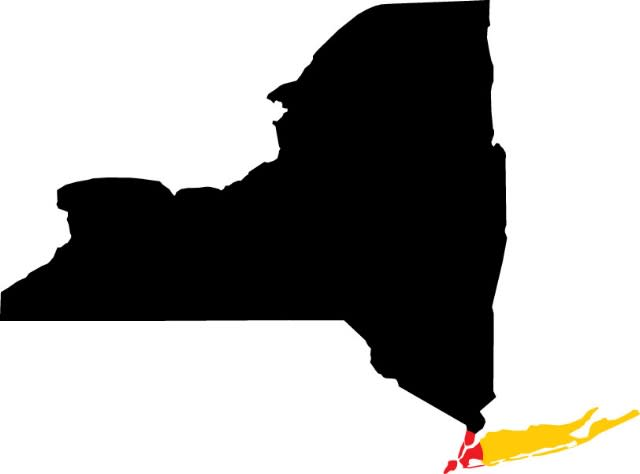 NYC to LI Map