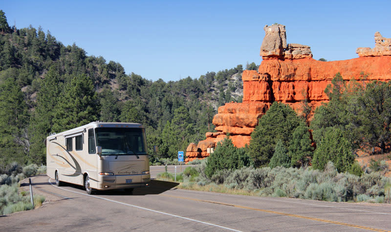 rv-byway 12 red canyon