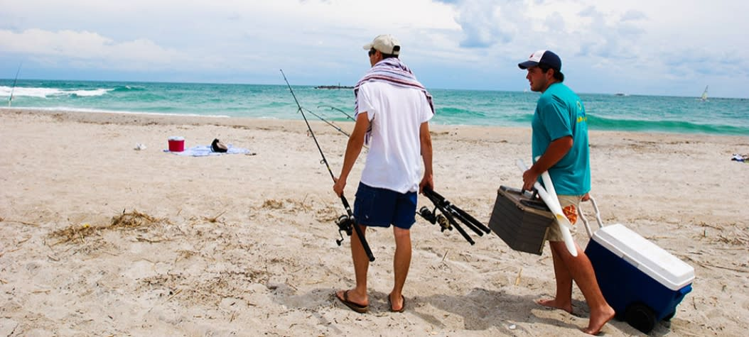 Copy of Fishing at Wrightsville Beach