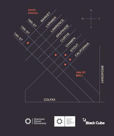 Denver alley map