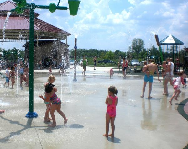 Splash Pads in Fort Wayne