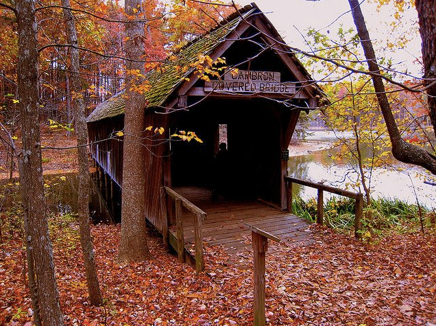 Cambron Covered Bridge – Huntsville, Madison County