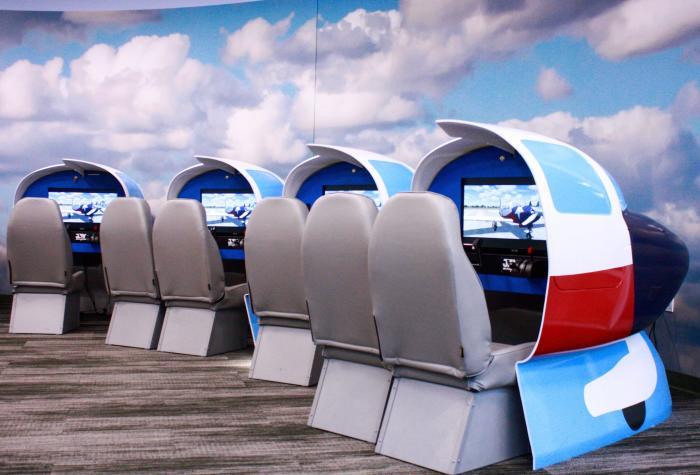 M-20 simulators at the Lone Star Flight Museum