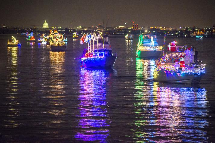 Christmas Boat Parade Ideas.20th Anniversary Alexandria Holiday Boat Parade Of Lights