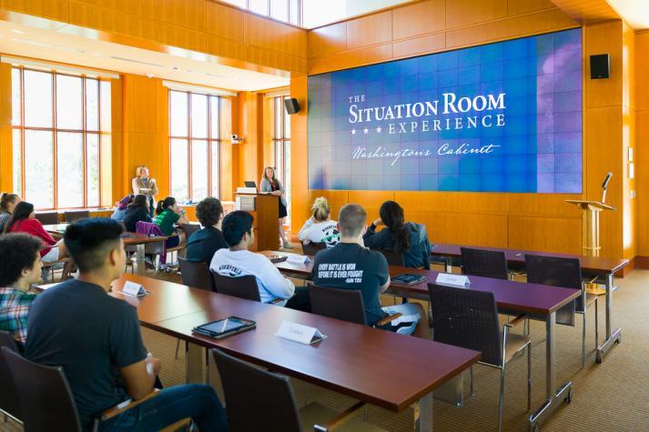 The Situation Room Washington S Cabinet Mount Vernon Va 22121