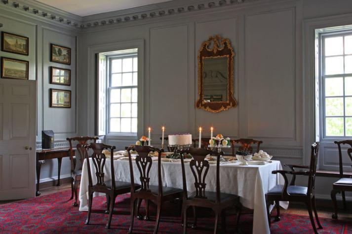Dining Room Wide Shot