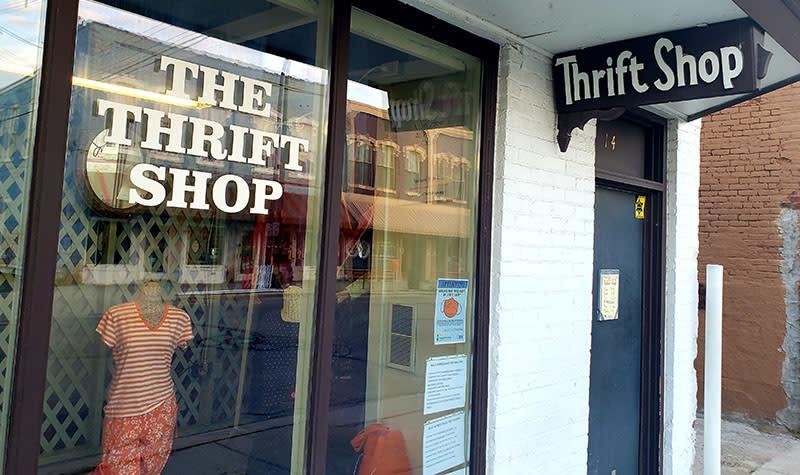 Ypsilanti Thrift Shop exterior