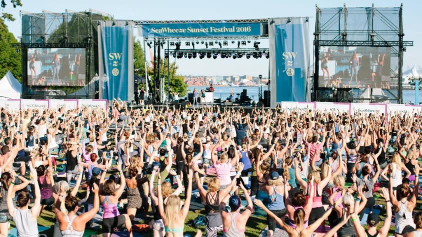 SeaWheeze FAM: Sunset Yoga Festival