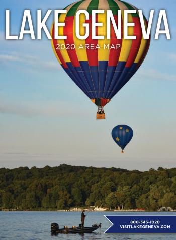 2020 Lake Geneva Area Map