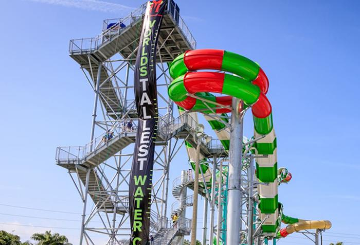Galveston's Waterslide