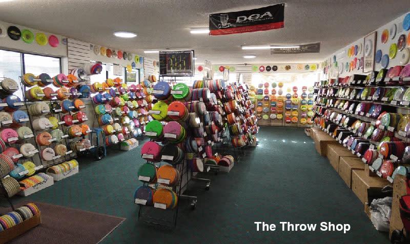 The Throw Shop interior