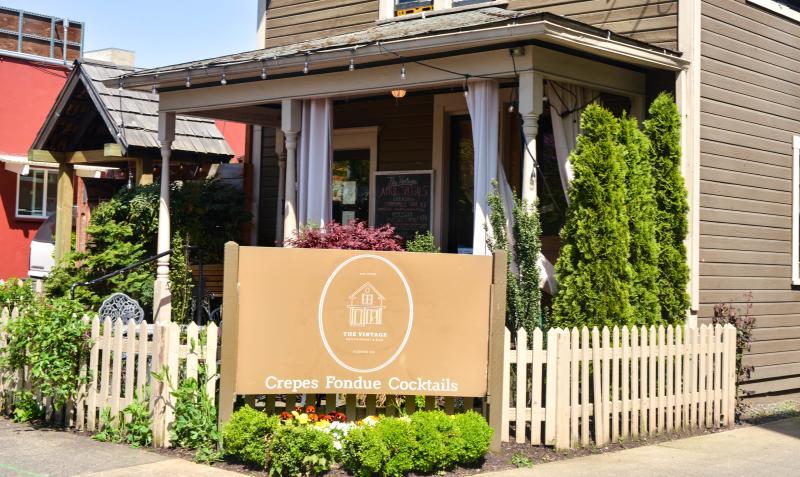The Vintage Restaurant by Melanie Griffin