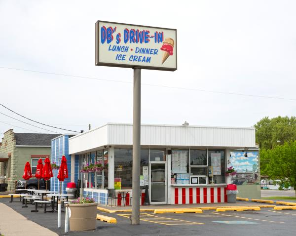 DB's Drive-In exterior