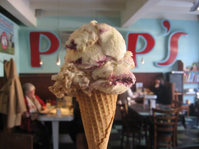 Pop's Ice Cream & Soda Bar - Roanoke, VA