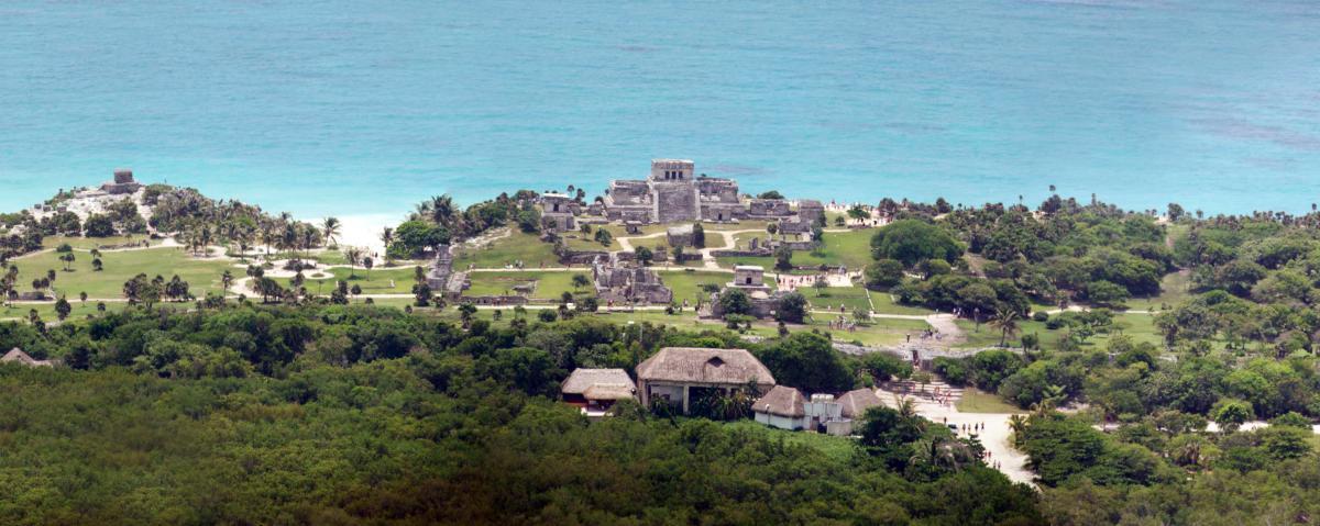 Tulum Site Aerial