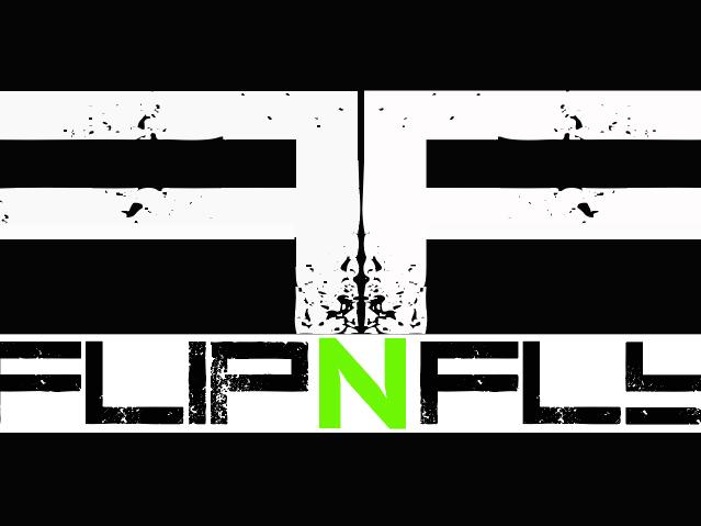 FlipNFly trampoline park Logo
