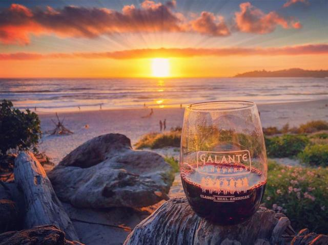 Galante Wine Sunset