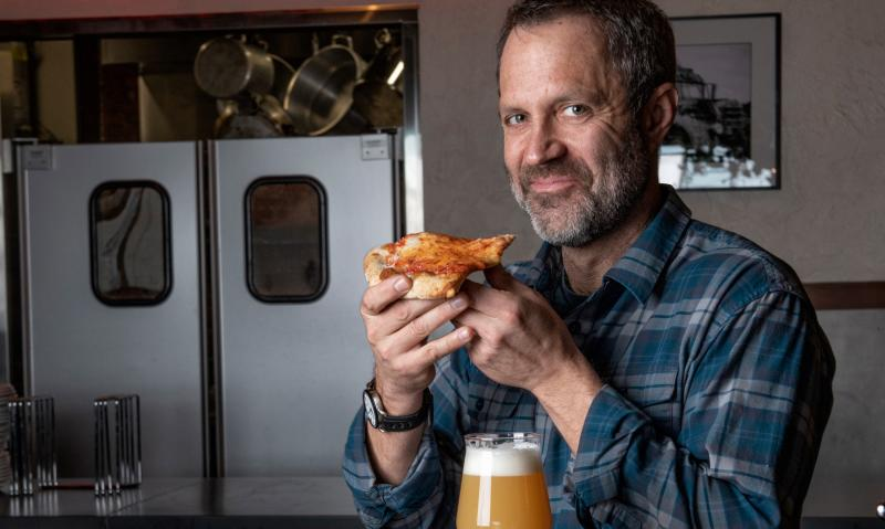 The Wheel Apizza Pub Owner by Dominick Barbero