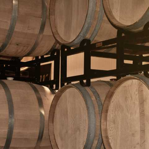 Cougar Vineyard & Winery Barrels