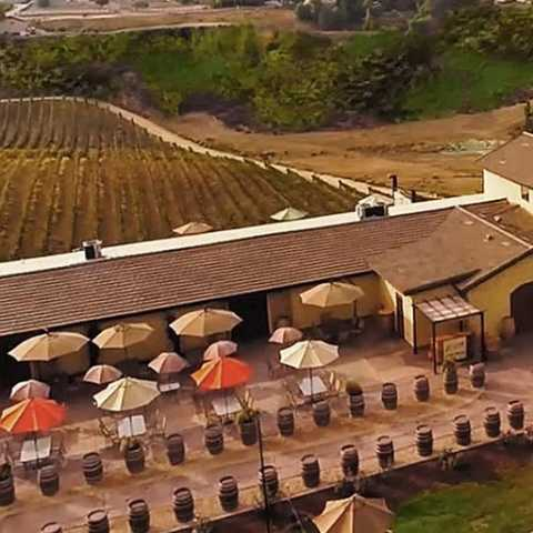 Bel Vino Winery Aerial View - Temecula