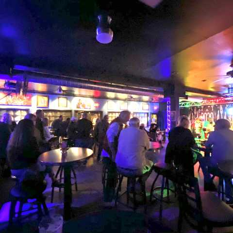 Old Town Blues Club Interior