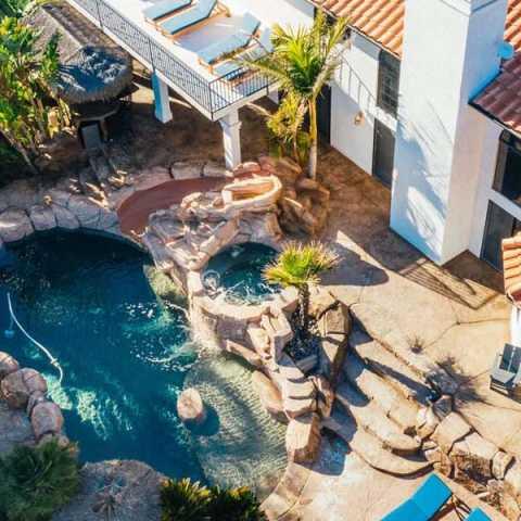 Pool and Home