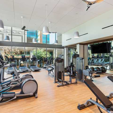 Spa Pechanga Fitness Room