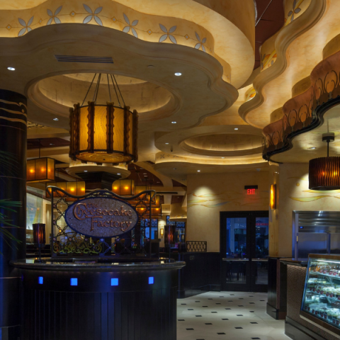 Inside Cheesecake Factory