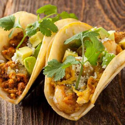 Brunch Taco - Bluewater Grill Seafood Restaurant