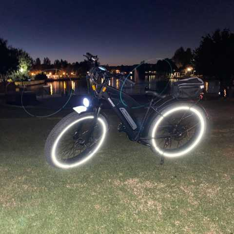 lighted tires