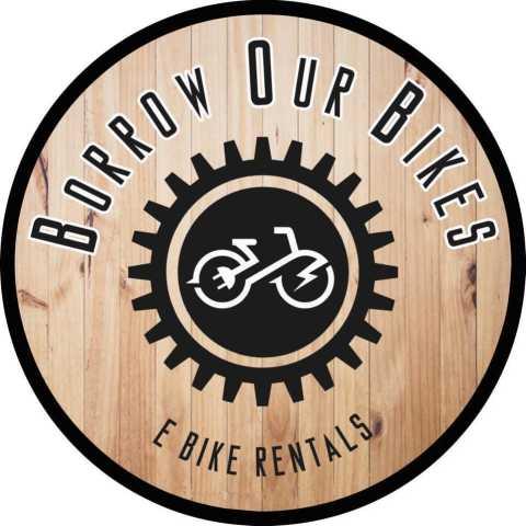 borrow our bikes logo