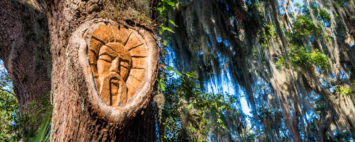 Golden Isles Arts Tree Spirit