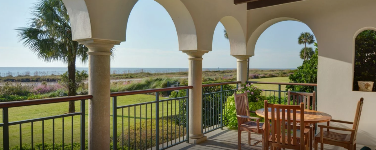Sea Island's Beach Club Residences offer beautiful ocean views, spacious living areas and access to this private island on the Georgia coast