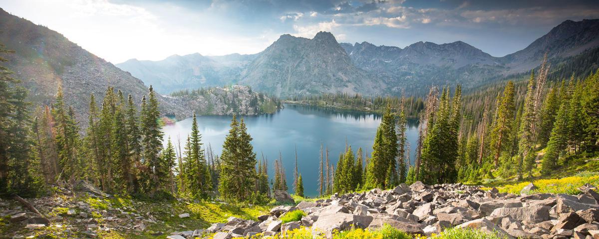 Gilpin Lake Zirkel Wilderness