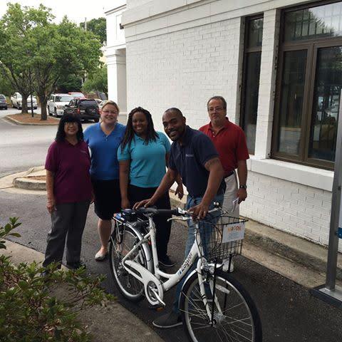 Washington Memorial Staff and Bike