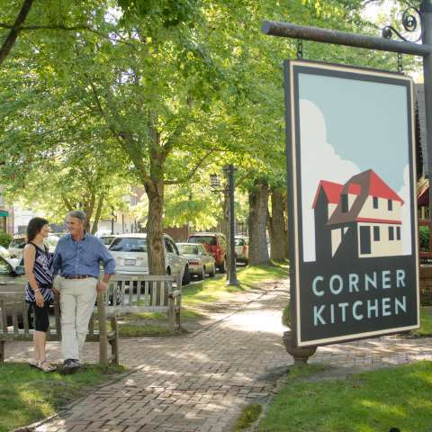 Historic Biltmore Village and Corner Kitchen Restaurant