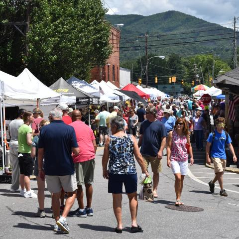 Sourwood Festival in Black Mountain, N.C.