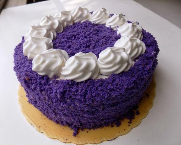 Ube Overload Cake