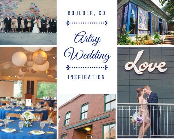 Artsy Wedding Collage